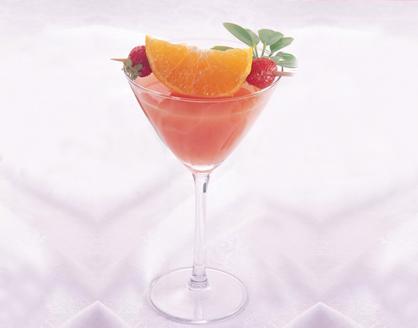 عصير الليمون الهندي والتوت الأحمر