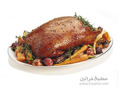 روستو البط بالبصل