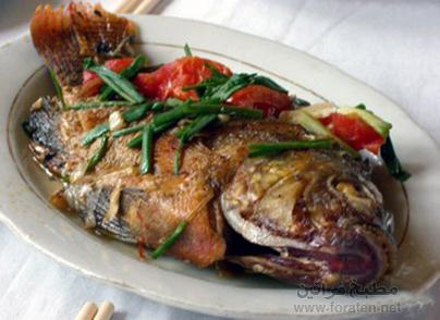 سمك على الطريقة الفرنسية