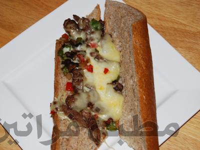 ساندوتش الستيك بالجبن