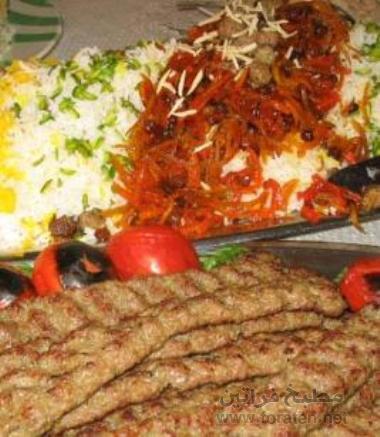 كباب ايراني لذيذ