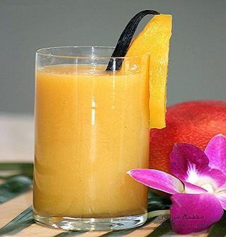 عصير المانجا بالحليب