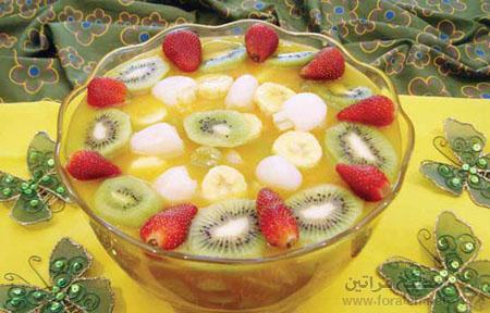 سلطة الفاكهة