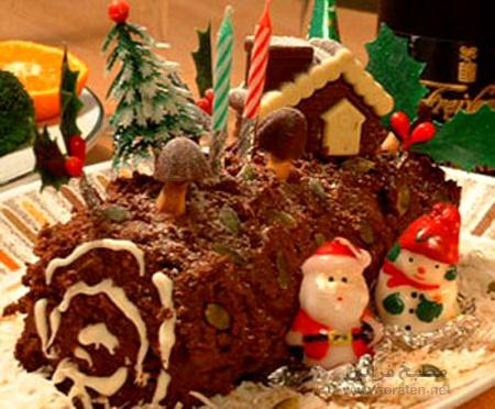 كعكة عيد الميلاد