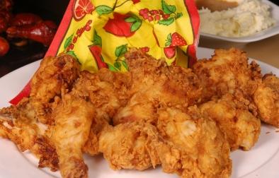 دجاج محمر على الطريقة الأمريكية