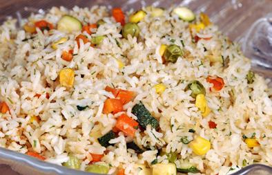 سلطة الأرز