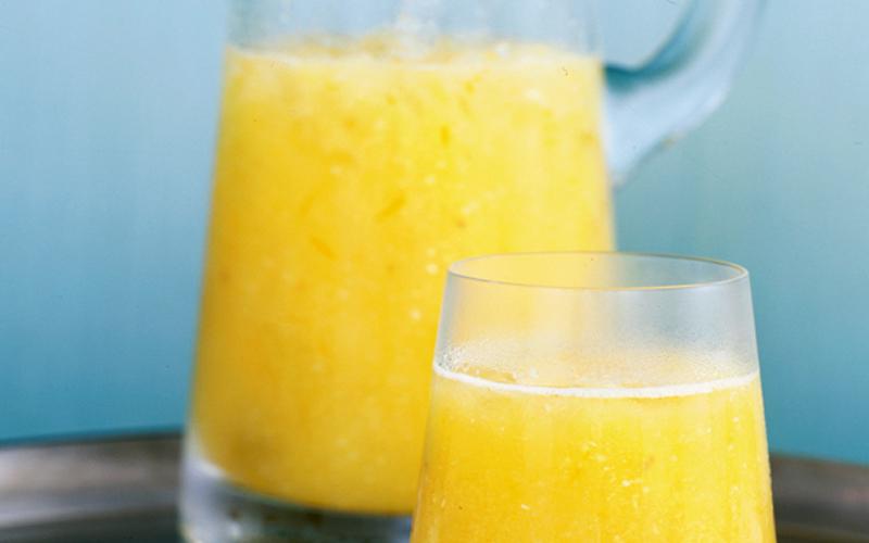 مثلوج (فرابيه) الأناناس والبرتقال