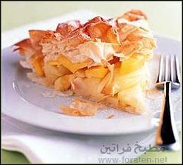 كعكة المانجو والتفاح