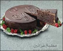 كعكة الشوكولاتة