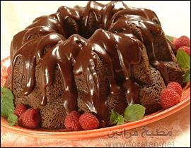 كعكة الشوكولاته بالبخار