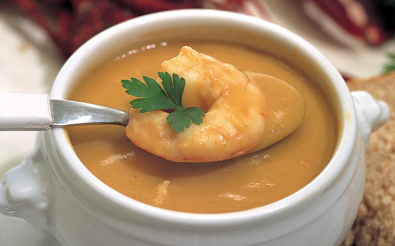 حساء القريدس