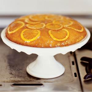 كعكة البيض والبرتقال